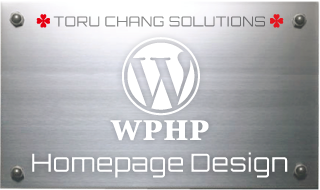 WP Homepage Design