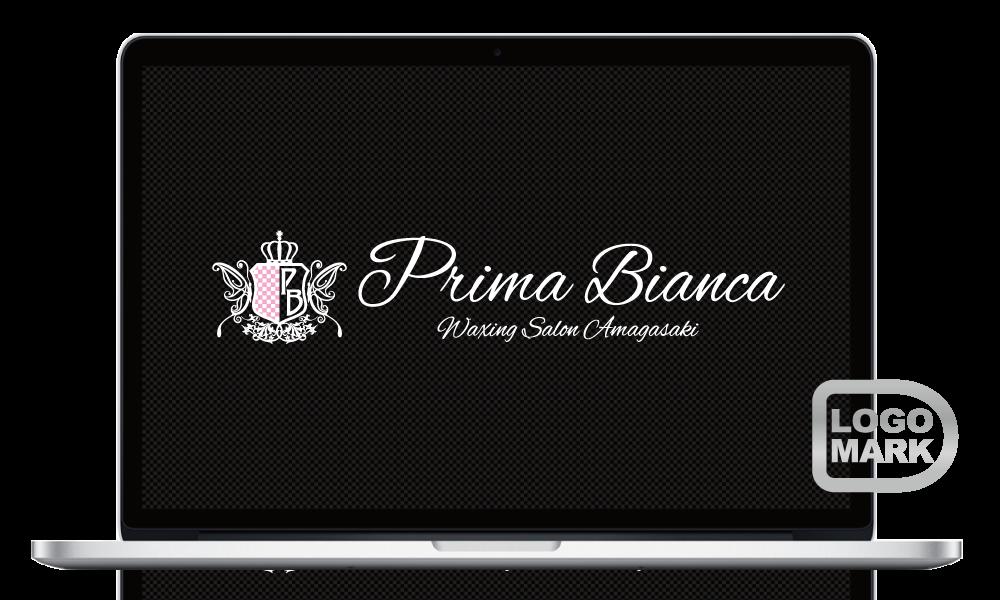 ロゴマーク,ロゴデザイン,ブランドマーク,キャラクター,オシャレ,かわいい,かっこいい,品がある,デザイン,Logo,Mark,toru chang,Prima Bianca,尼崎