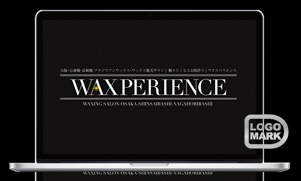 ロゴマーク,ロゴデザイン,ブランドマーク,キャラクター,オシャレ,かわいい,かっこいい,品がある,デザイン,Logo,Mark,toru chang,WAXPERIENCE,大阪,心斎橋